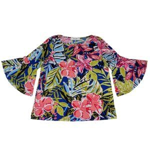 Jones Studio Women's Blouse Size S Polyester 3/4